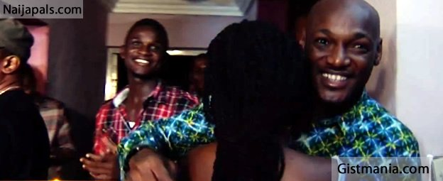 A True Love 2face Idibia Surprises Wife Annie On Movie Set
