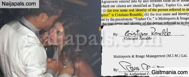 Big Mess Cristiano Ronaldo Signed Secret 287k Contract With Rpe