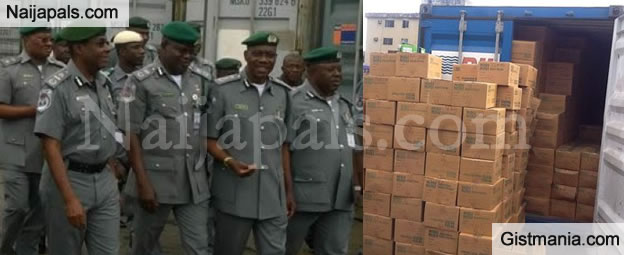 Nigeria Customs Intercepts N7 3Bn Worth Of Tramadol