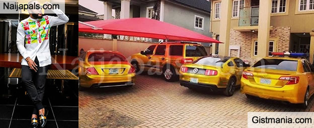 WOW! Singer Kcee Shows Off His Customized Gold Plated Cars In His ...