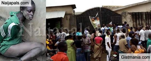 Mob sets suspected female child kidnapper ablaze in