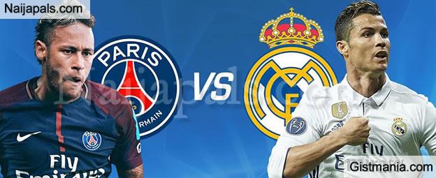 Paris Saint Germain Psg Vs Real Madrid Tuesday 6032018 Gistmania