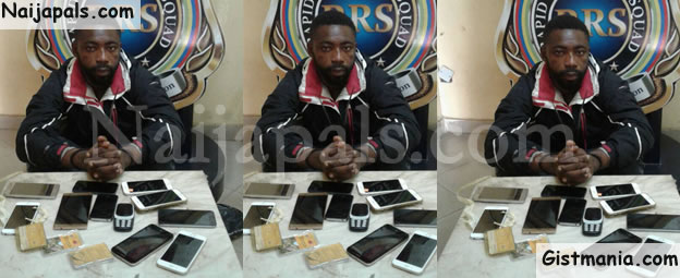 I Buy Phones From Armed Robbers To Resell As London Used – Nabbed