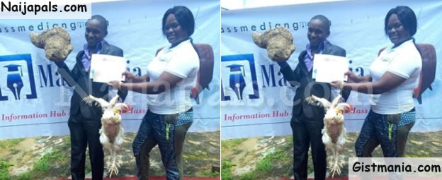 WTH! Mass Communication Student Gets Yam Tuber, Live Chicken