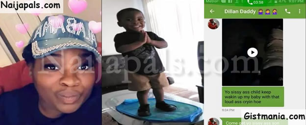 Man Sends Vulgar Messages To His Babymama After She Dropped