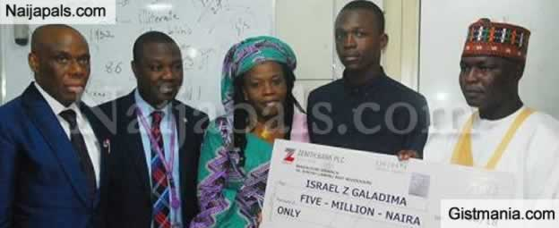 Student Who Aced WAEC And Scored 364 In JAMB Presented With