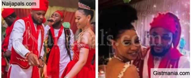 WOW !!! : Beautiful Photos From The Lavish Traditional Wedding Where Davido Was The Groomsman
