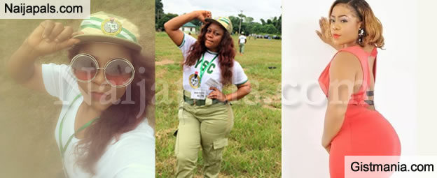 Nollywood Star Didi Ekanem Who Has Arguably The Biggest Btt In The Nigerias Versatile Movie Industry Is Currently Doing Her Nysc