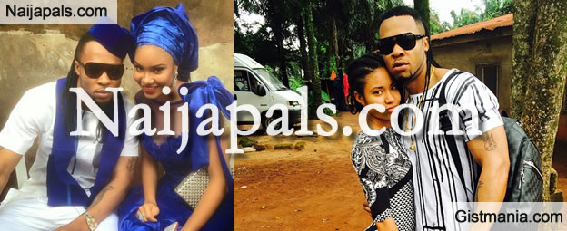 Flavour And Anna Banner At War Over New Baby with Sandra Okagbue
