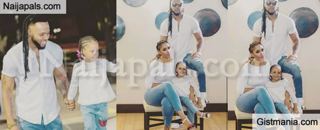 Singer Flavour And His First Baby Mama, Sandra Okagbue Welcome Their