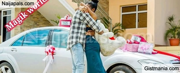 A Girl Got The Wish Of Her Life After Boyfriend Surprised With Brand New Mercedes Benz S Class As Birthday Gift Surprise News Was Posted By