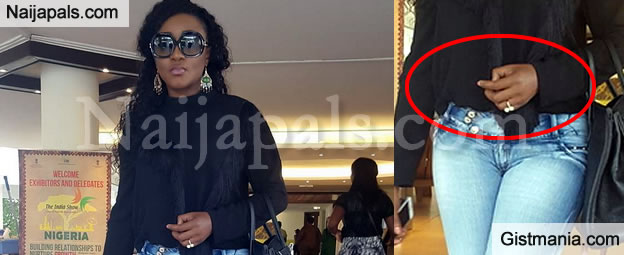 Nollywood Actress Planning To Have Baby Out Of Wedlock For The First Time Since Her Marriage Crashed Ini Edo Has Been Spotted With A