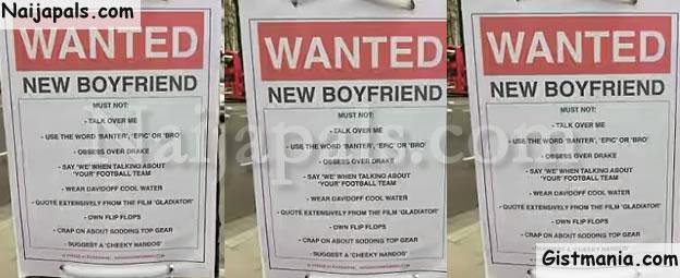 Search boyfriend