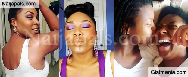 A Nigerian Lesbian Silverline Okoro And Her Girlfriend Are Celebrating Their  Years Anniversary Today Silverline Posted A Video And With Her Girlfriend