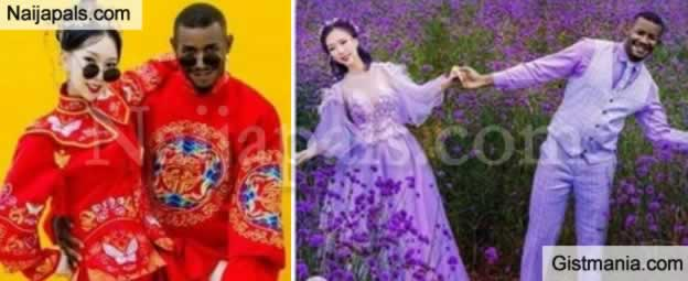 WOW !!!: Pre-Wedding Photos Of Nigerian Man And His Chinese Wife-To-Be Got Everyone Talking