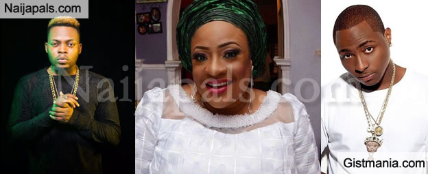Actress Foluke Daramola Blasts Olamide, Davido