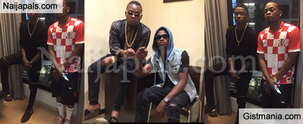 Olamide Reveals That Lil Kesh and Viktoh are No Longer Signed To