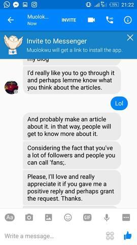 Sex through facebook