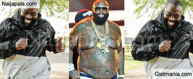 american rapper rick ross flaunts macho body in men health magazine