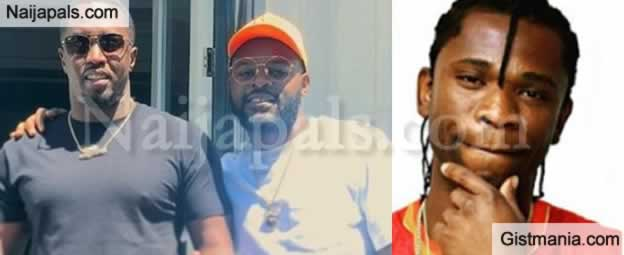 SHOCKING !!!: Speed Darlington Shades Falz After Posting Video Of Him Hanging Out With Diddy (Photos)