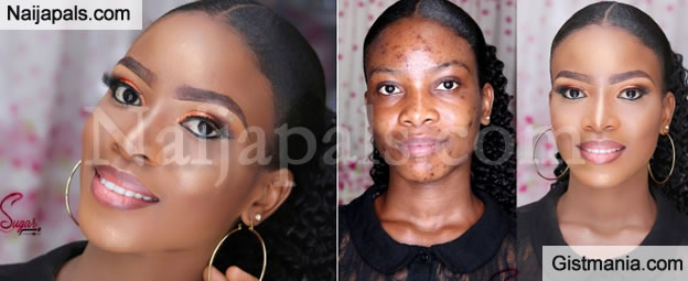Checkout This Amazing Before And After Makeup Transformation That