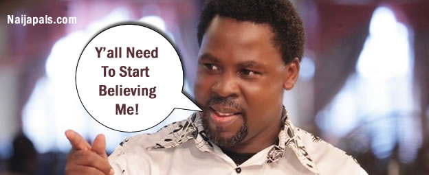 Miracles From The Synagogue Are Not Fake - TB Joshua Challenges