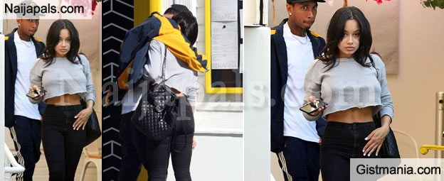 75e471dccf0 Tyga Flaunts His New Girlfriend and She Looks Like a Kylie Jenner Copy-Cat  - Gistmania