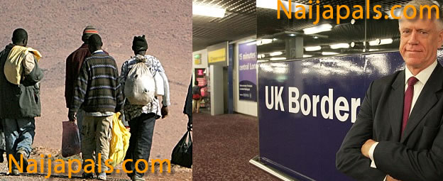 Migrants From Lagos, Nigeria Arrested In Estuary UK as They Held