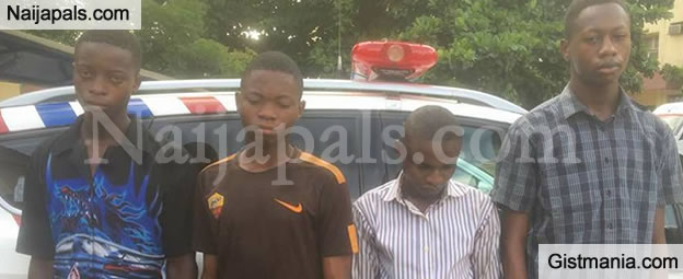 Faces of The Young Boys Caught Selling Leaked WAEC Exam Questions