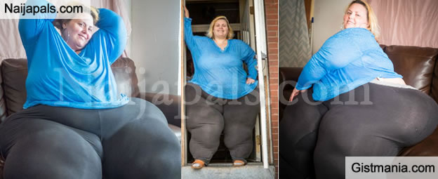 Possible world s biggest hips woman not