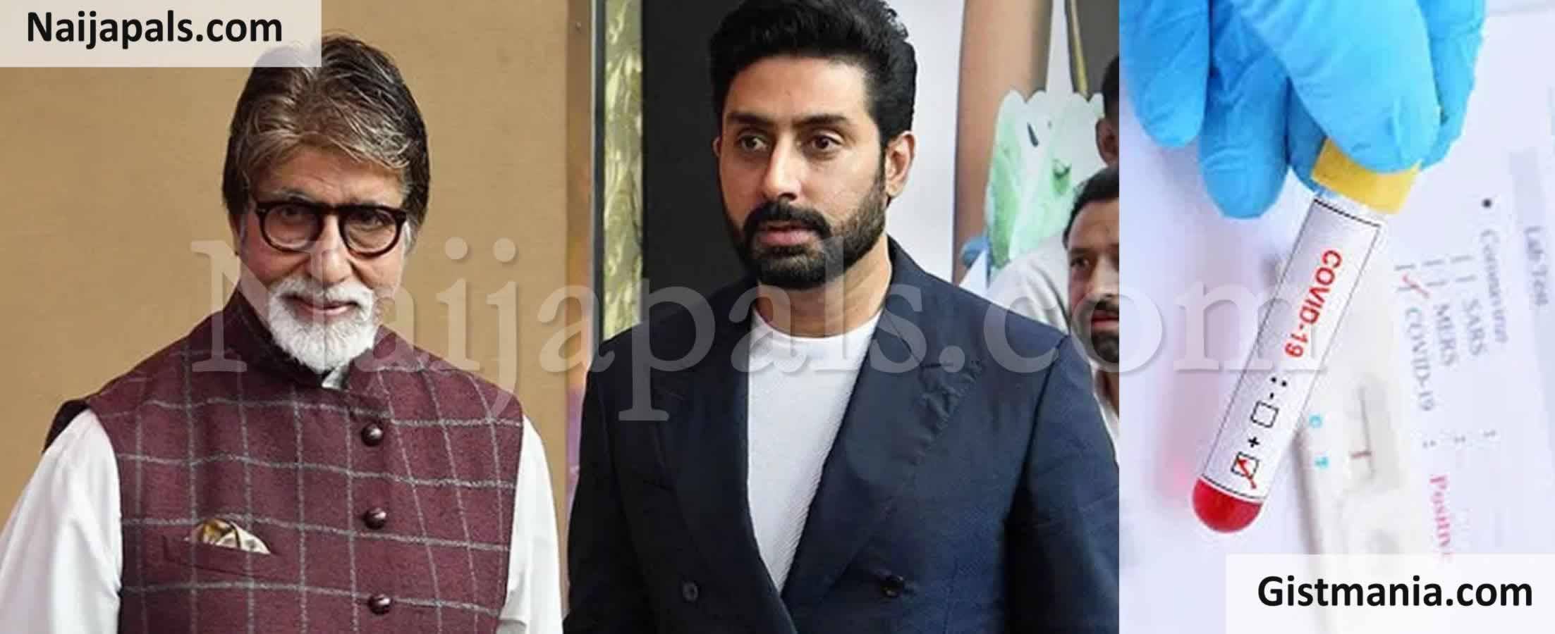 <img alt='.' class='lazyload' data-src='https://img.gistmania.com/emot/news.gif' /> <b>Legendary Bollywood Actor, Amitabh Bachchan & His Son, Abhishek Test Positive For COVID-19</b>