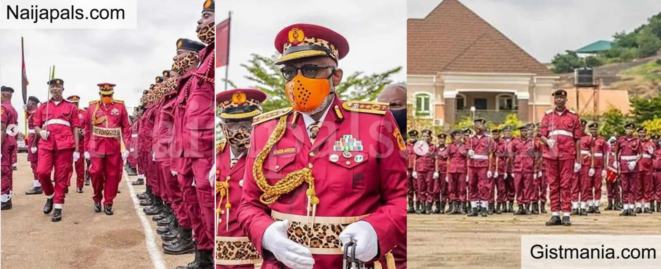<img alt='.' class='lazyload' data-src='https://img.gistmania.com/emot/photo.png' /> PHOTOS: <b>Ondo State Becomes The First State To Display Amotekun Ceremonial Uniform As Governor Rotimi Akeredolu Attends Passing Out Parade</b>