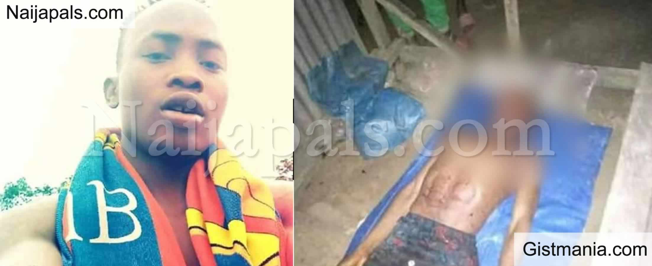 <img alt='.' class='lazyload' data-src='https://img.gistmania.com/emot/photo.png' /> <b>27-yr-old Man Stabbed To Death By Suspected Hoodlums After Reportedly Winning N15m Bet In Delta</b> (Photos)