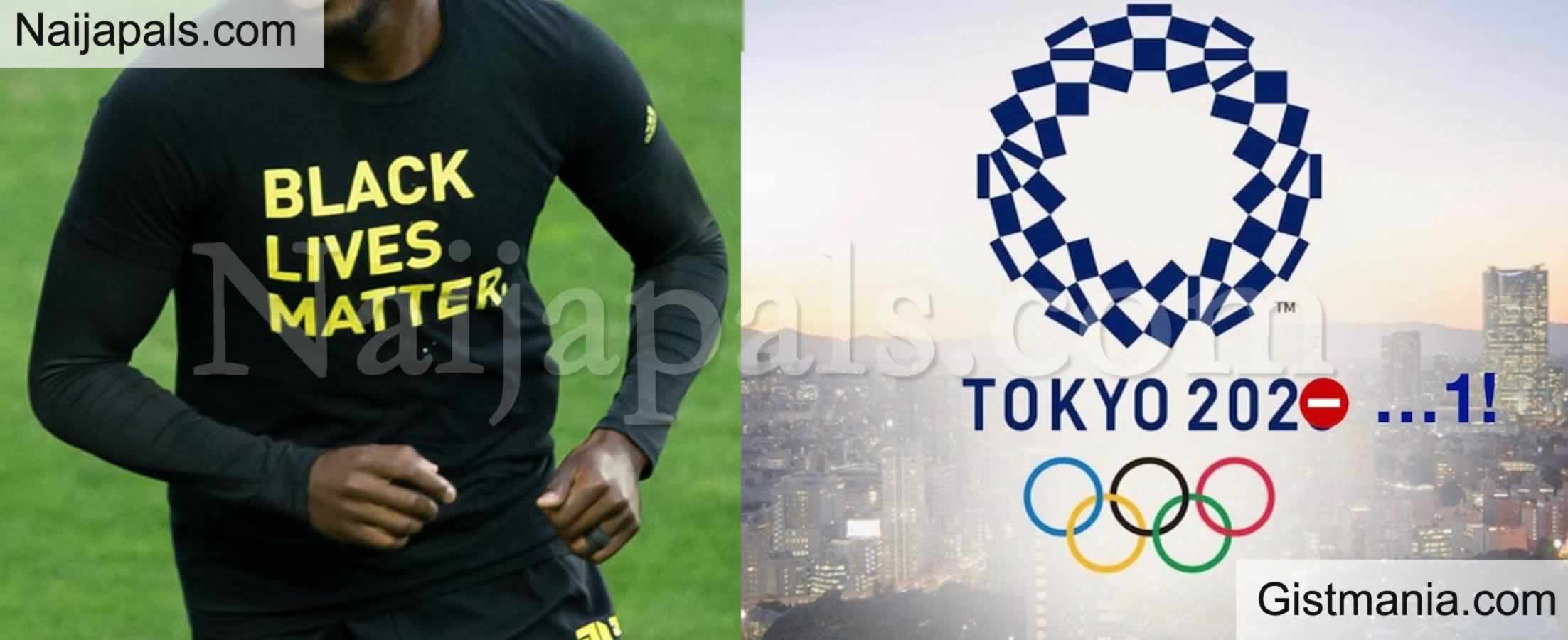 <img alt='.' class='lazyload' data-src='https://img.gistmania.com/emot/comment.gif' /> <b>Athletes Not Allowed to Wear 'Black Lives Matter' Apparel As Tokyo Olympics Is Set To Kick Off</b>