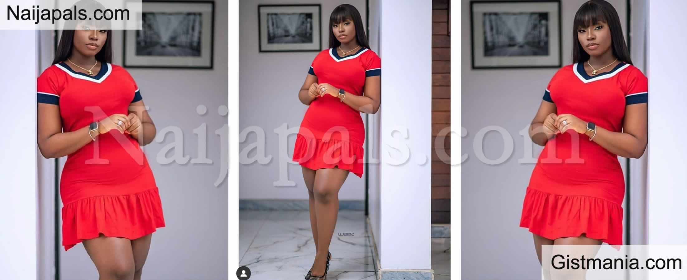 <img alt='.' class='lazyload' data-src='https://img.gistmania.com/emot/photo.png' /> CUTE Or NOT? <b>Ex-BBNaija Star, Bambam Stuns Followers With 'Thick' New Photo Of Herself</b> (PHOTO)