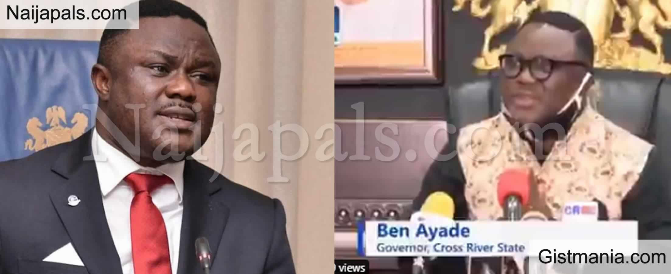 <img alt='.' class='lazyload' data-src='https://img.gistmania.com/emot/news.gif' /> Cross River Governor, <b>Ben Ayade Imposes 24hrs Curfew After Residents Discovered Hidden COVID-19 Palliatives Warehouse</b>