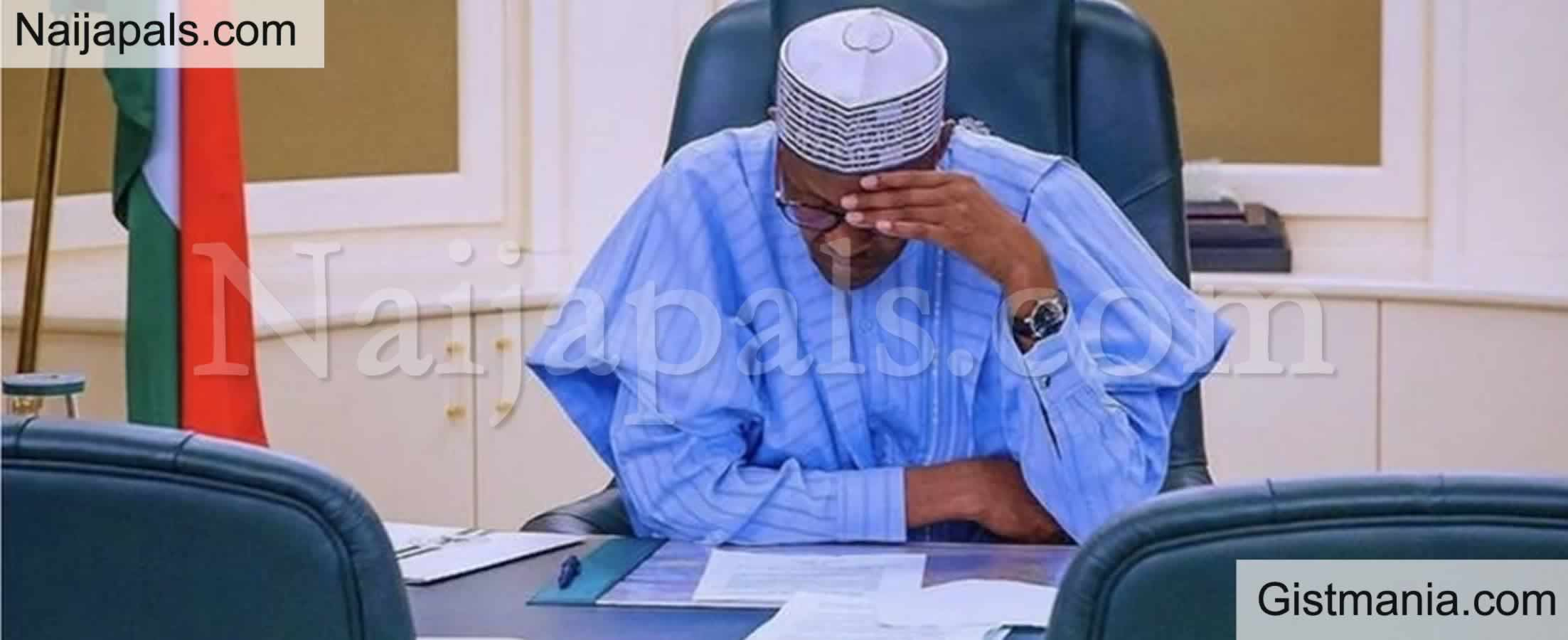 <img alt='.' class='lazyload' data-src='https://img.gistmania.com/emot/news.gif' /> <b>President Buhari Expresses Grief Over The Killing Of 43 Farmers On Rice Fields In Borno State</b>