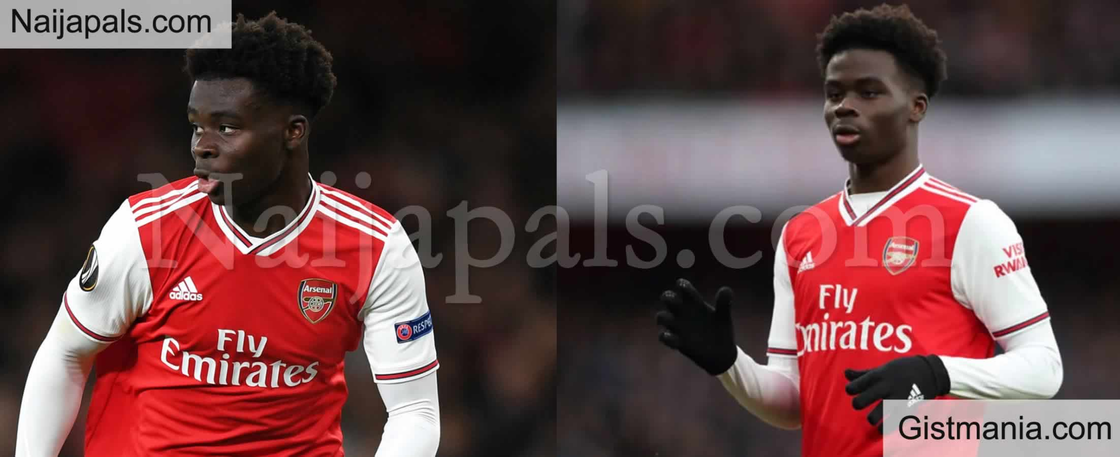 <img alt='.' class='lazyload' data-src='https://img.gistmania.com/emot/soccer.gif' /> <b>Nigerian Midfielder, Bukayo Saka Signs Long Term Deal With Arsenal</b>
