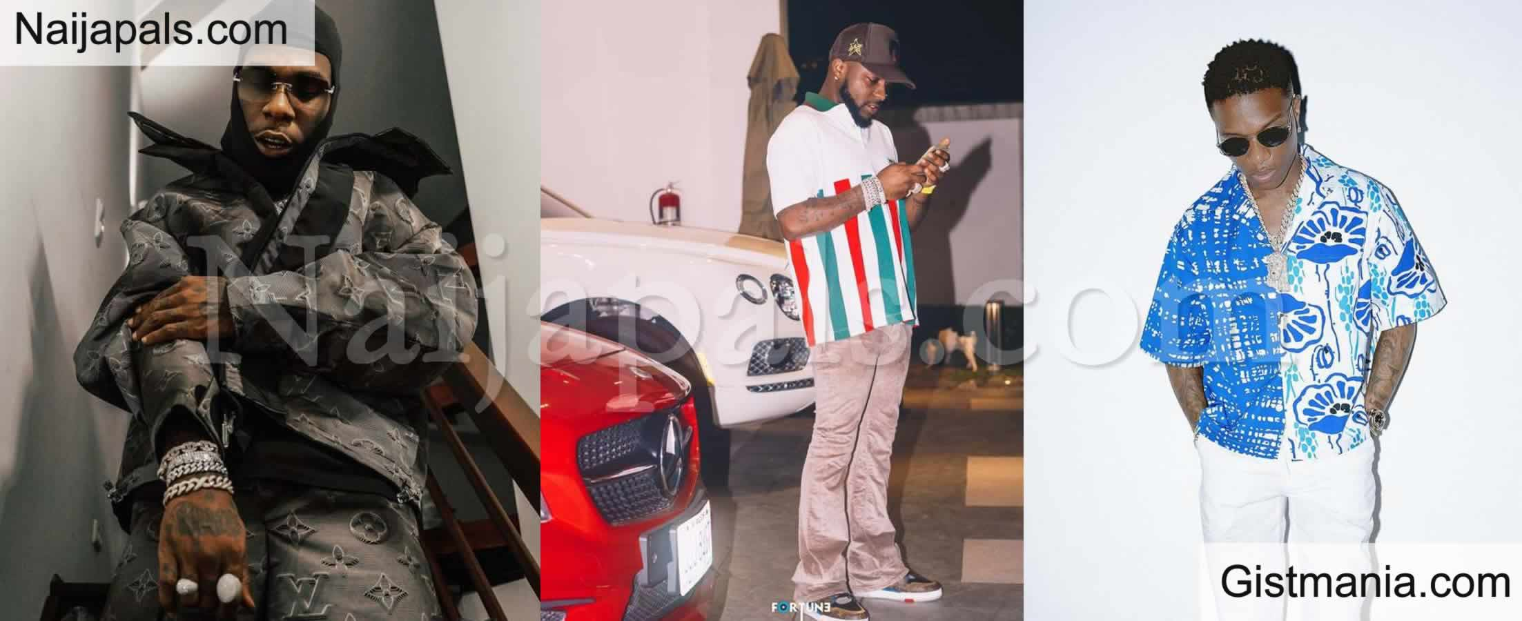 <img alt='.' class='lazyload' data-src='https://img.gistmania.com/emot/comment.gif' /> <b>You Will Become Broke As Wizkid – Fan Warns Burna Boy Over Competition With Davido</b>