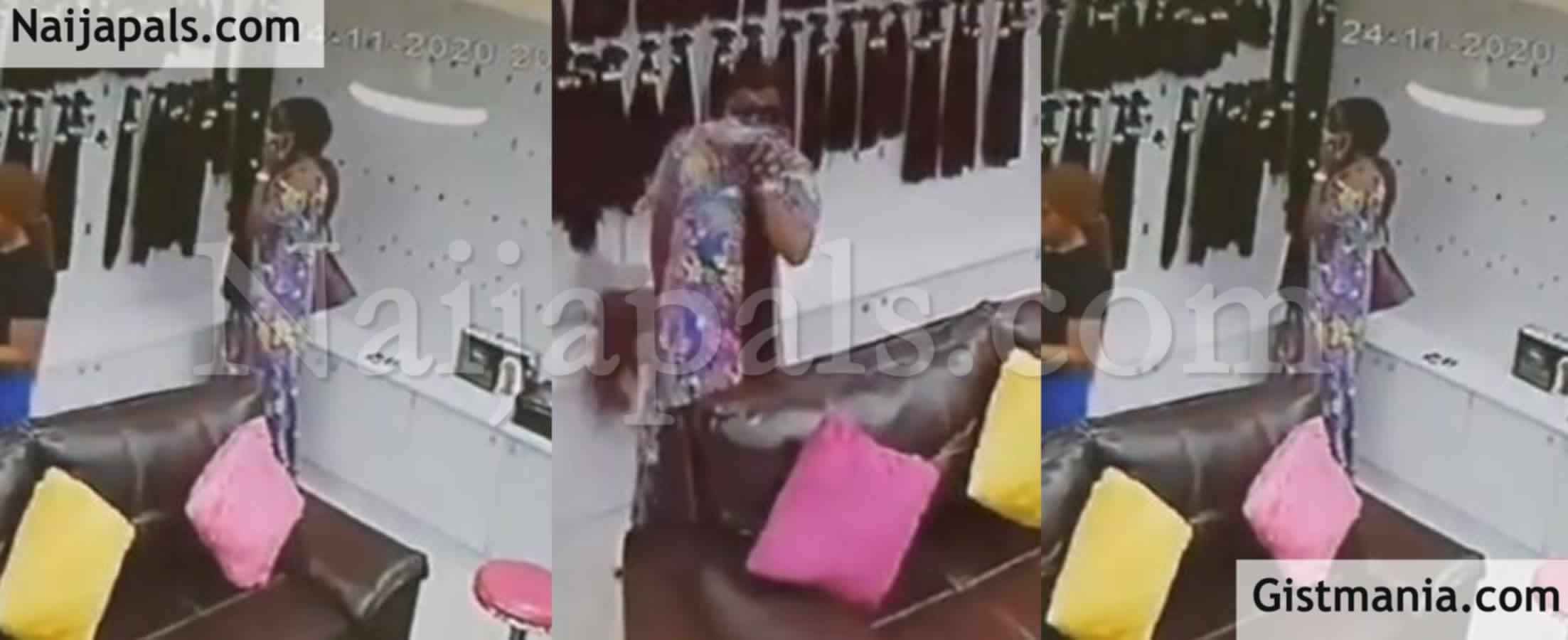 <img alt='.' class='lazyload' data-src='https://img.gistmania.com/emot/video.gif' /> <b>Watch Embarrassing Moment CCTV Camera Captures Lady Stealing Bone Straight Hair In Weave Store</b>