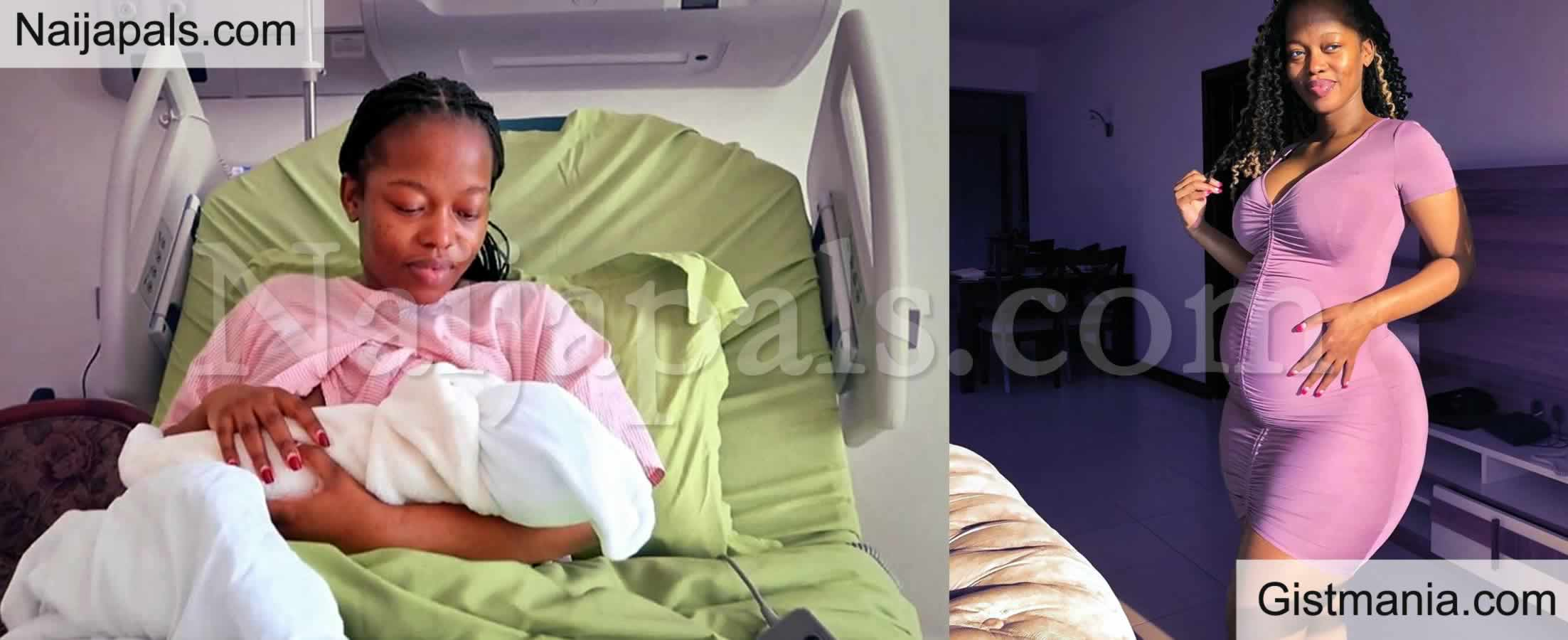 <img alt='.' class='lazyload' data-src='https://img.gistmania.com/emot/photo.png' /> Kenyan Socialite, <b>Corazon Kwamboka Gives Birth To a Baby Boy On Her Birthday</b>