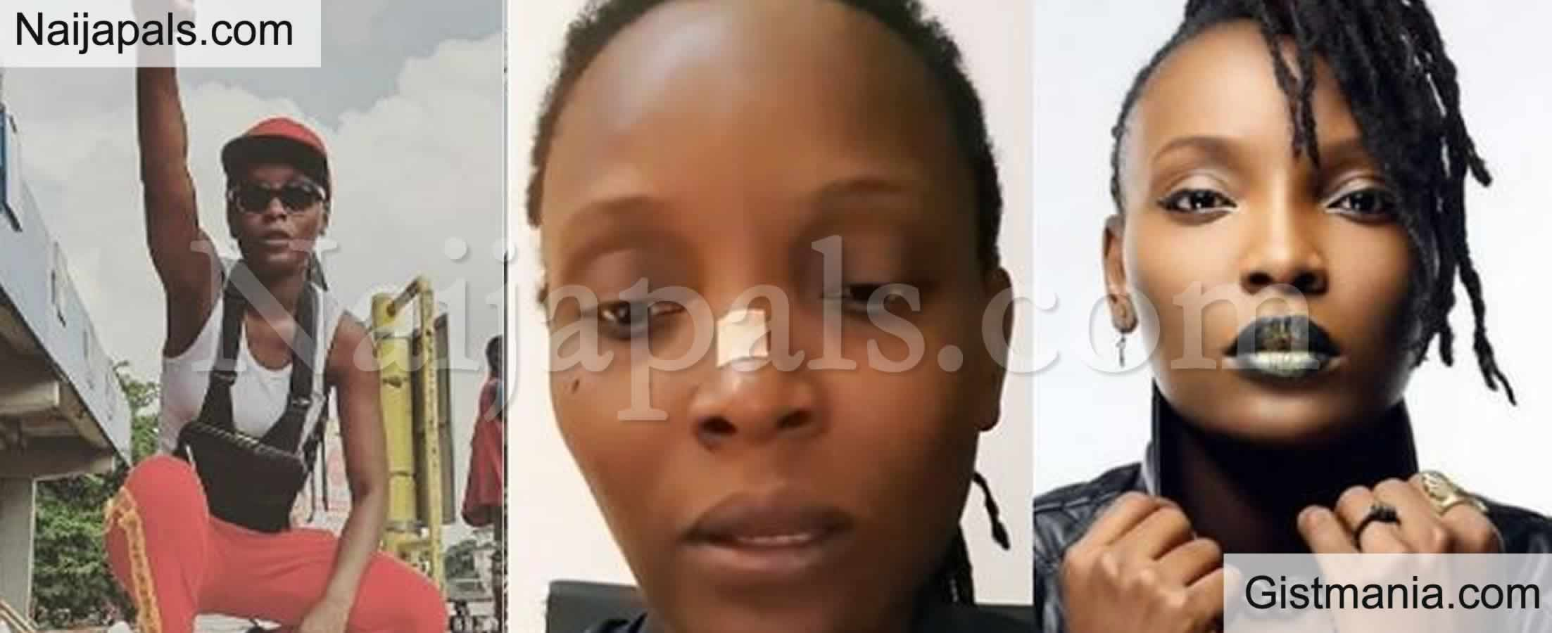 "<img alt='.' class='lazyload' data-src='https://img.gistmania.com/emot/video.gif' /> <b>""My Life Was Being Threatened""</b> - DJ Switch Recounts Her Horrific Experience During Lekki Toll-gate Shooting (Video)"