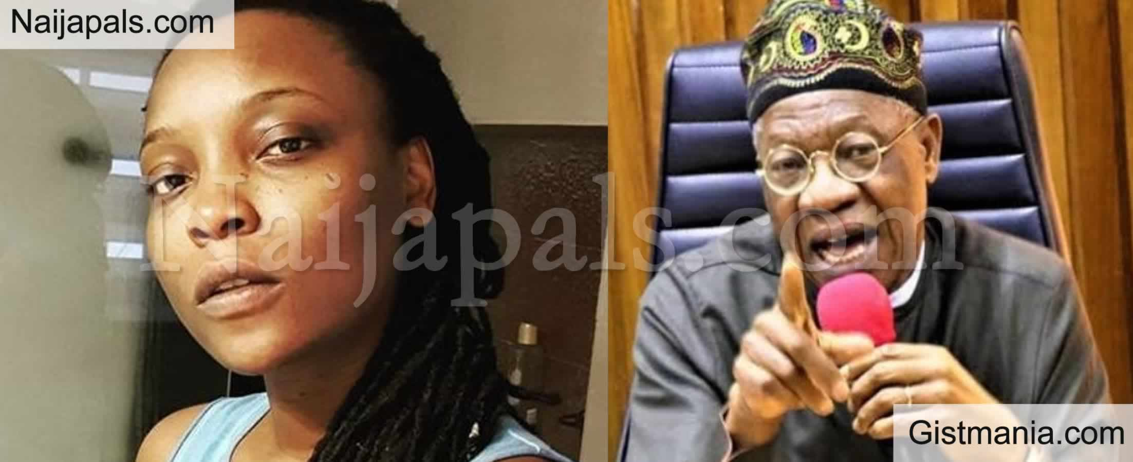 <img alt='.' class='lazyload' data-src='https://img.gistmania.com/emot/comment.gif' /> <b>You Are Misinformed! DJ Switch Tackles Lai Mohammed</b>