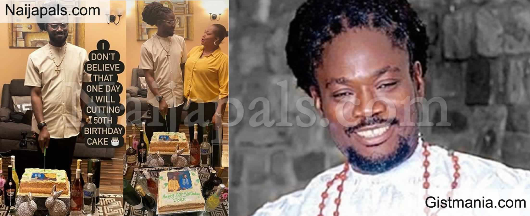 "<img alt='.' class='lazyload' data-src='https://img.gistmania.com/emot/photo.png' /> <b>""I Don't Believe That One Day I Will Be Cutting 50th Birthday Cake""</b> - Daddy Showkey Says As He Clocks 50 (PHOTO)"