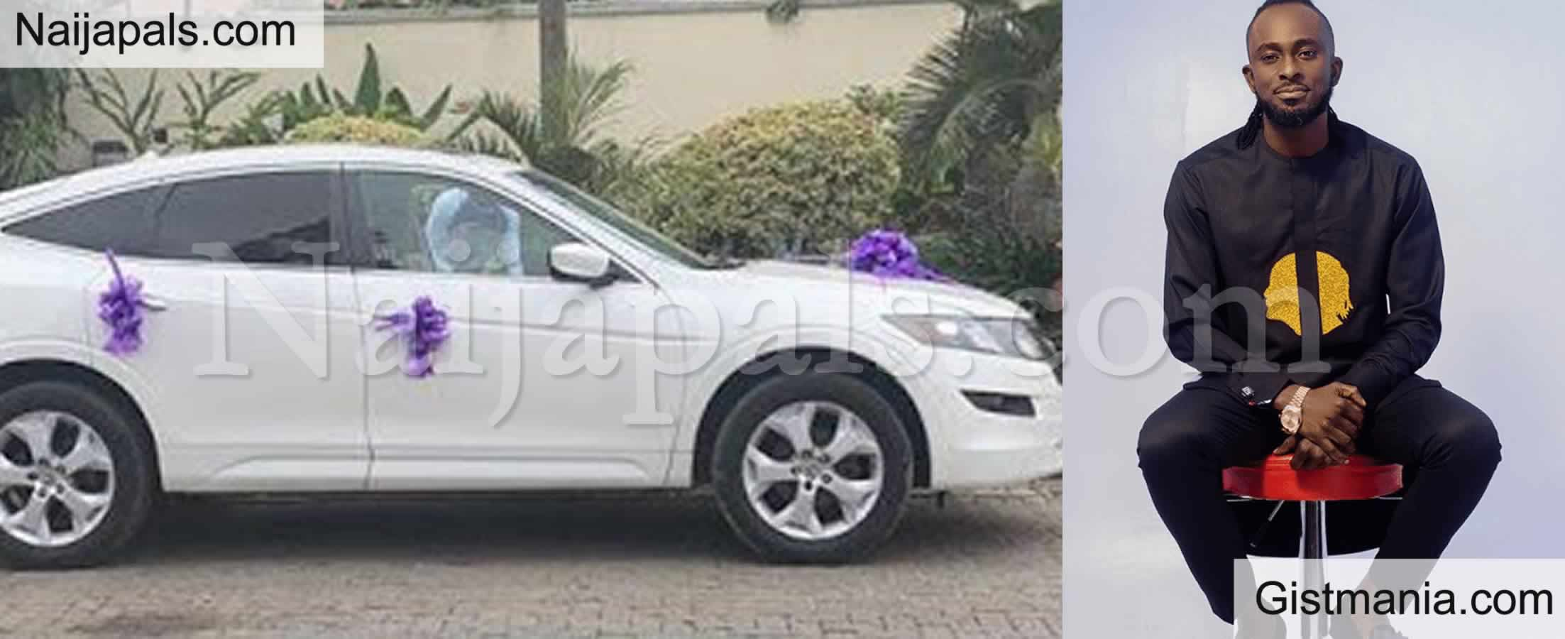 <img alt='.' class='lazyload' data-src='https://img.gistmania.com/emot/photo.png' /> PHOTOS: <b>Ultimate Love's David Wilson Receives Brand New Car Gift, N1million From Fans On His 34th Birthday</b>