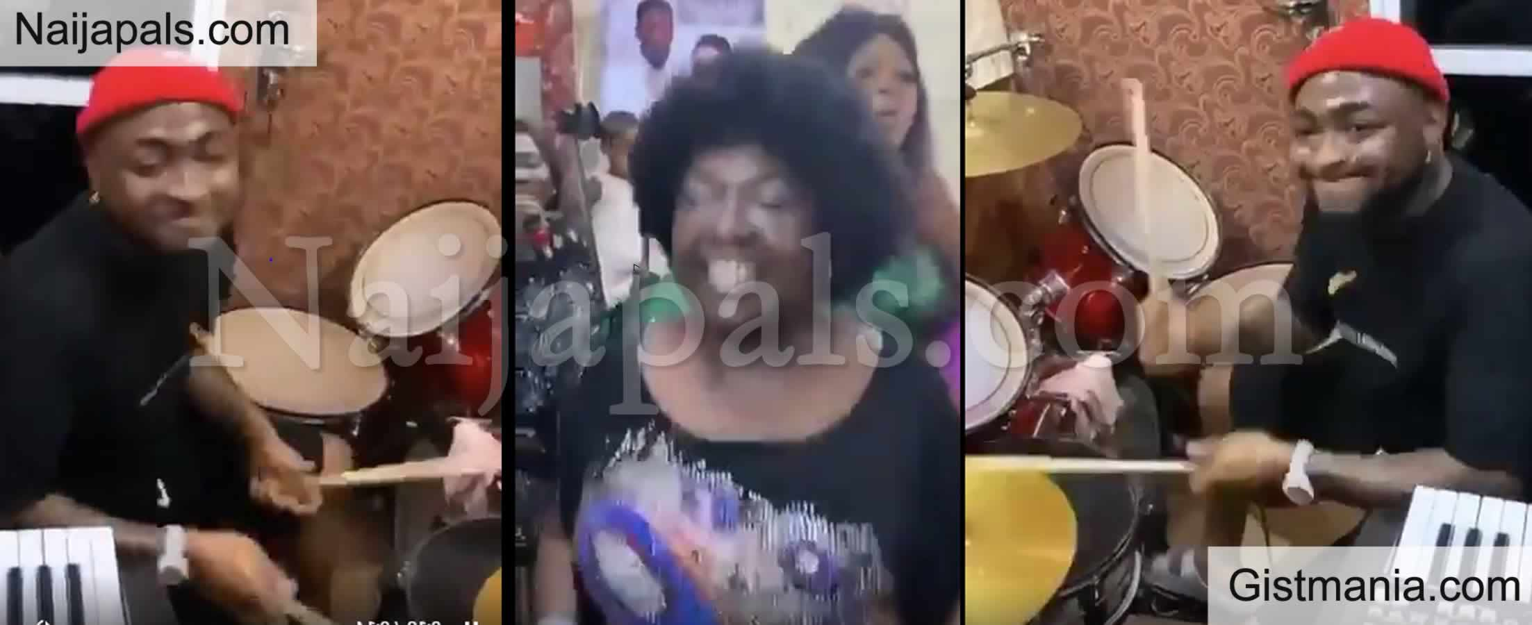<img alt='.' class='lazyload' data-src='https://img.gistmania.com/emot/video.gif' /> <b>Watch Davido Playing Drums In Church During Praise & Worship Period In Asaba</b> (VIDEO)