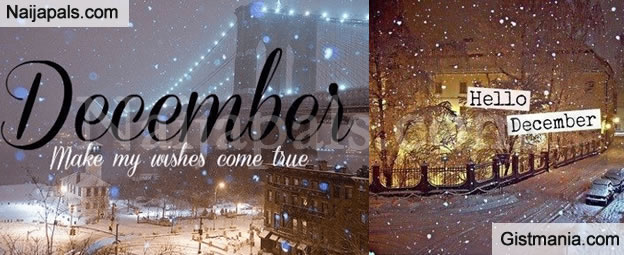 Welcome To December Happy New Month To All Our Beautiful And Lovely