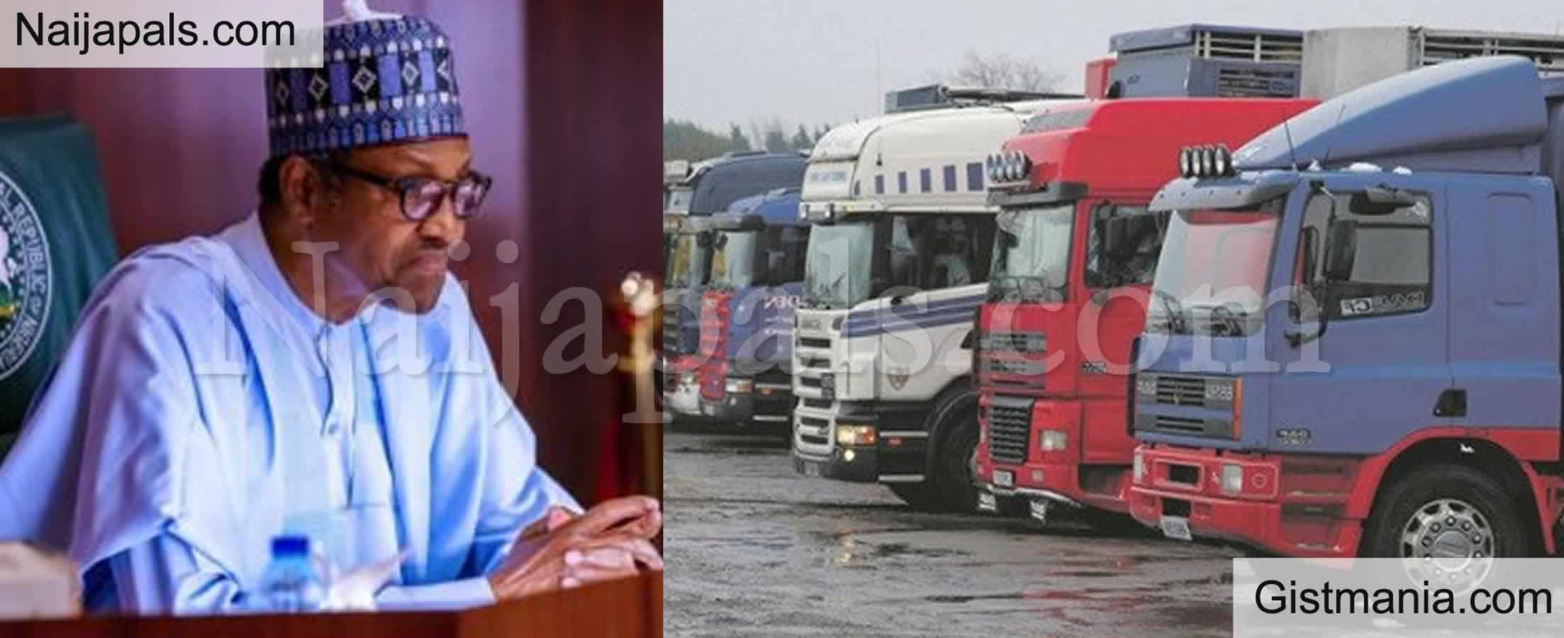 <img alt='.' class='lazyload' data-src='https://img.gistmania.com/emot/news.gif' /> Tanker Accidents: <b>Federal Govt To Ban Importation Of Trucks Above 10 Years</b>