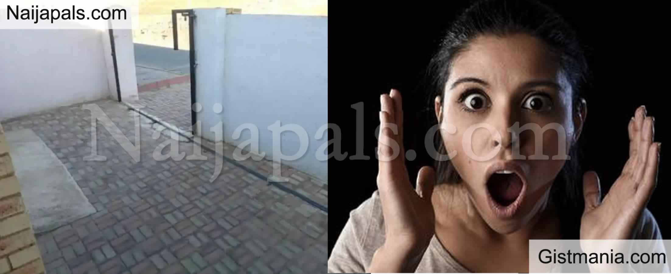 "<img alt='.' class='lazyload' data-src='https://img.gistmania.com/emot/comment.gif' /> <b>""We Woke Up Today And Our Gate Was Stolen""</b> – Lady Shares Ordeal"
