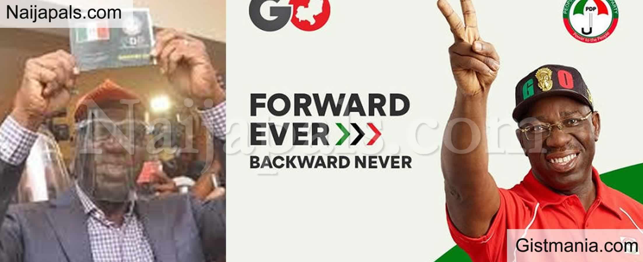 <img alt='.' class='lazyload' data-src='https://img.gistmania.com/emot/news.gif' /> BREAKING! <b>Governor Godwin Obaseki Of PDP Wins Edo State Gubernatorial Election</b>